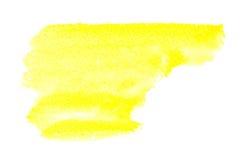 Watercolor brush strokes Royalty Free Stock Photos