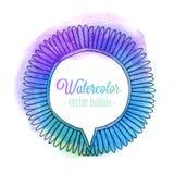 Watercolor bubble. Stock Photos