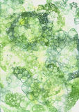 Watercolor bubbles. Abstract background Stock Photos
