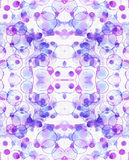 Watercolor bubbles. Abstract background Royalty Free Stock Image
