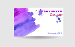 Watercolor Business background Royalty Free Stock Images