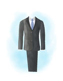 Watercolor business suit Royalty Free Stock Images