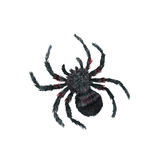 Watercolor cartoon spider Stock Images