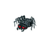 Watercolor cartoon spider Royalty Free Stock Photography