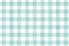 Watercolor checked pattern. Stock Image