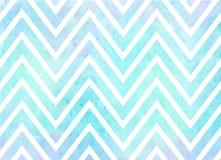 Watercolor Chevron Stripes Background Pattern royalty free illustration
