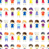 Watercolor children illustration. Stock Images