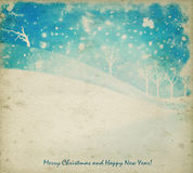 Watercolor Christmas Background Royalty Free Stock Image