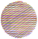 Watercolor circle painted background. Texture paper. Isolated Royalty Free Illustration