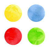 Watercolor circles. This is file of EPS10 format Royalty Free Stock Photography