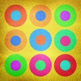 Watercolor circles background Royalty Free Stock Photos