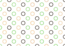 Watercolor circles pattern. Stock Image