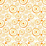 Watercolor circles seamless pattern Stock Photo