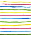 Watercolor color strips. Abstract watercolor color strips on white background. The color isolated horizontal line in the paper. It is a hand drawn. watercolor vector illustration