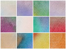 Watercolor colored background Royalty Free Stock Images