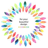 Watercolor colorful abstract background Royalty Free Stock Photo