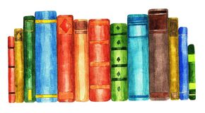 Books, watercolor 2