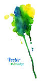 Watercolor colorful stain Royalty Free Stock Photography