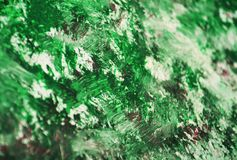 Green silver purple white blurred painting watercolor background, watercolor acrylic painting abstract background royalty free stock photo