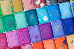 Watercolor cracked Stock Images