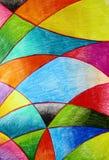 Watercolor Crayo Royalty Free Stock Image