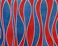 Watercolor dark blue and dark red striped background. Stock Photography