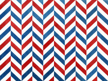 Watercolor dark red and dark blue stripes background, chevron. Stock Photography