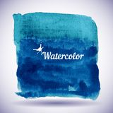 Watercolor design element for the realization Royalty Free Stock Images