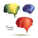 Watercolor design. Royalty Free Stock Photography
