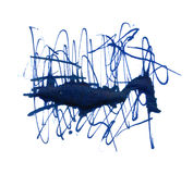watercolor doodle Στοκ Εικόνες