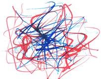 watercolor doodle Στοκ φωτογραφίες με δικαίωμα ελεύθερης χρήσης