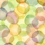 Watercolor dots Royalty Free Stock Images