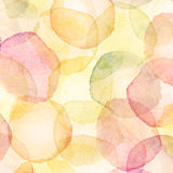 Watercolor dots Stock Image