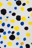 Watercolor dots Stock Photos