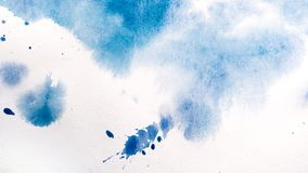 Watercolor drips. Abstract painting. Background royalty free stock image