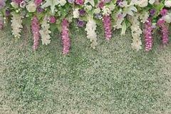 Watercolor effect backdrop weddings Royalty Free Stock Photos