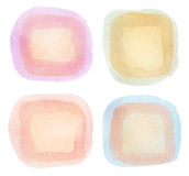 Watercolor elements Stock Image