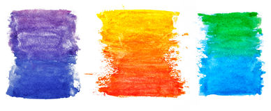 Watercolor elements Royalty Free Stock Photography