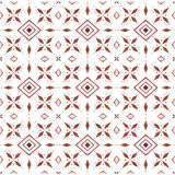 Watercolor ethnic pattern. Ornament Stock Photography