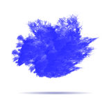 Watercolor explosion paint abstract vector stock illustration