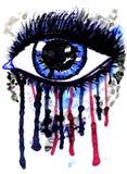 Watercolor Eye Royalty Free Stock Photos