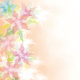 Watercolor Floral background Royalty Free Stock Image