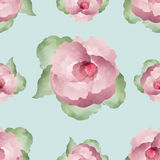 Watercolor Floral Background Stock Image