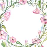 Watercolor floral composition. Royalty Free Stock Photos
