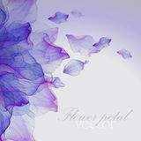 Watercolor floral round patterns. Stock Photo
