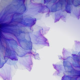 Watercolor floral round patterns. Stock Image
