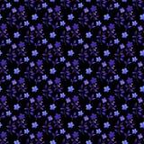 Watercolor floral seamless pattern. Handdrawn botanical backdrop.  vector illustration