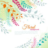 Watercolor floral Royalty Free Stock Photography