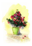 Watercolor flower Royalty Free Stock Image