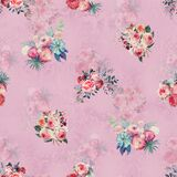 watercolor flower pattern with beautiful floral for print digital fashion on texture background